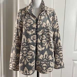 Jason Maxwell Fleece Jacket Size 2X